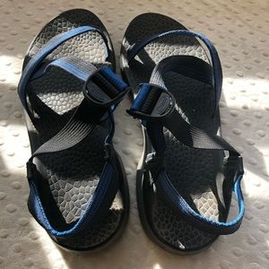 Men's blue Chaco sandals